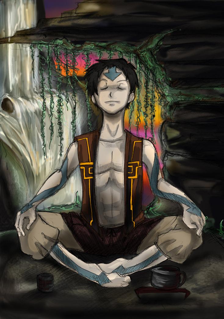 manga avatar méditation guérir dépendance affective
