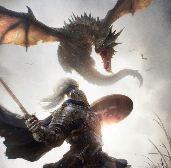 dragon chevalier subir souffrance suicide mettre fin à ses jours fantasy