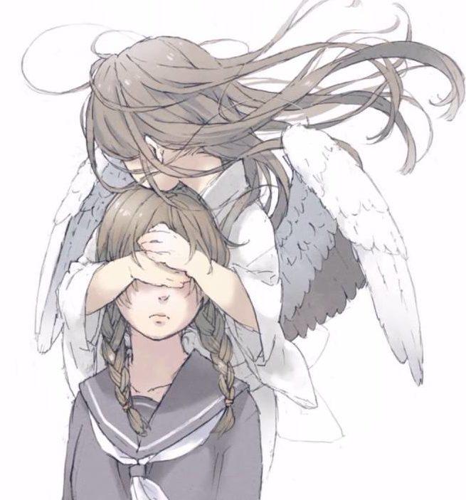 intuition ange voix intérieure écouter manga homme femme