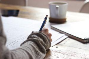 reprendre gout à la vie écrire