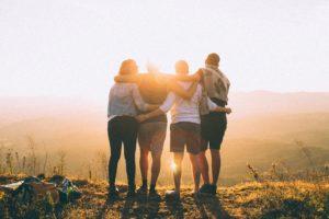 reprendre gout à la vie amis