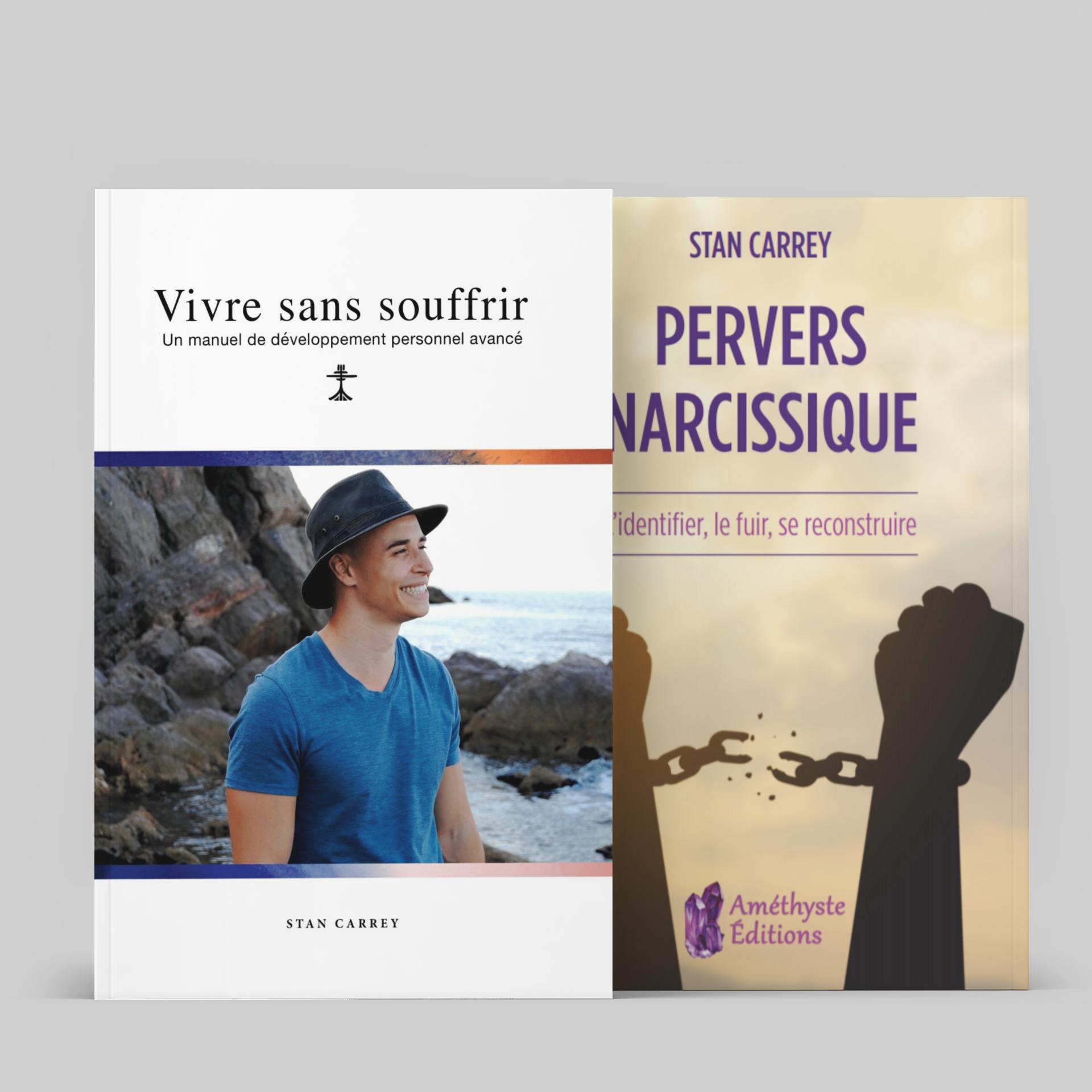 2 livres de Stan Carrey au choix