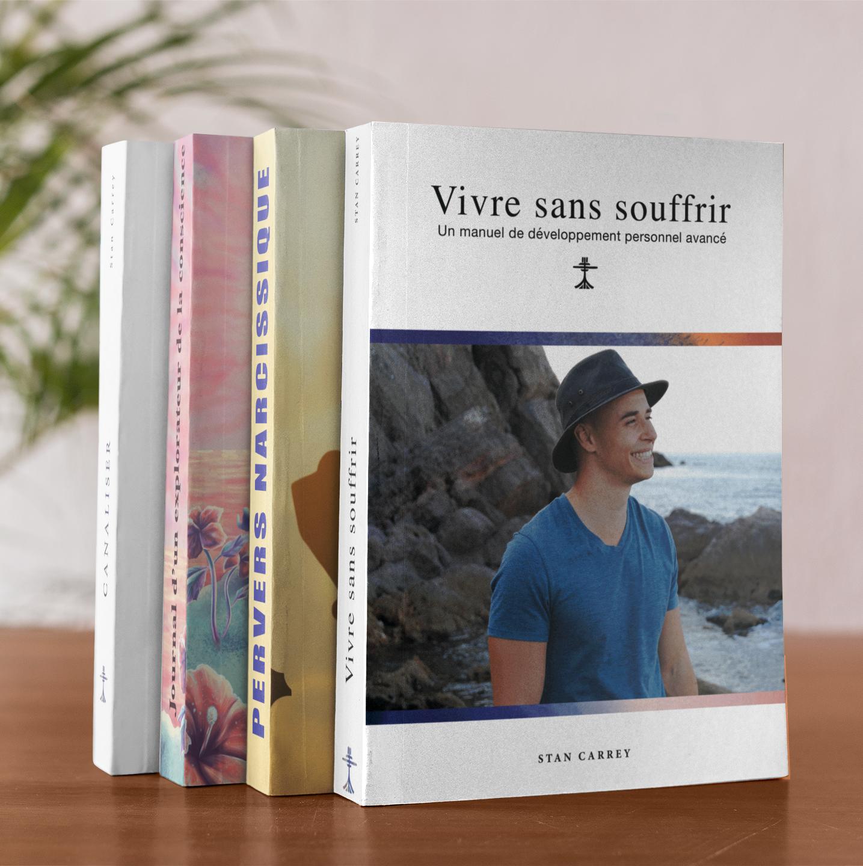 4 Livres de Stan Carrey La collection complète